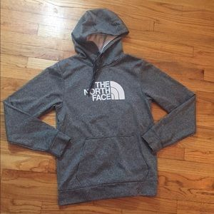 Men's gray The North Face hoodie Size Small